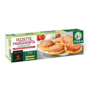 FROZEN MINI MARGHERITA PIZZAS