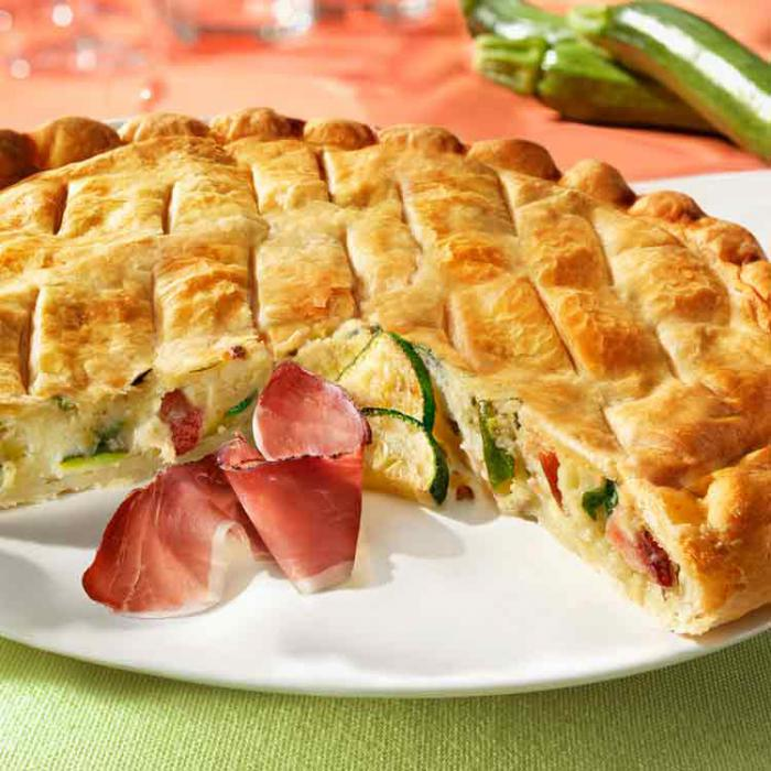 NEW IN OUR SAVORY PIES RANGE: 500g SFOGLIATE PUFF PASTRY PIE